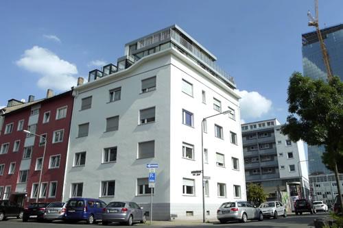 bauphase neubau mehrfamilienhaus frankfurt main. Black Bedroom Furniture Sets. Home Design Ideas